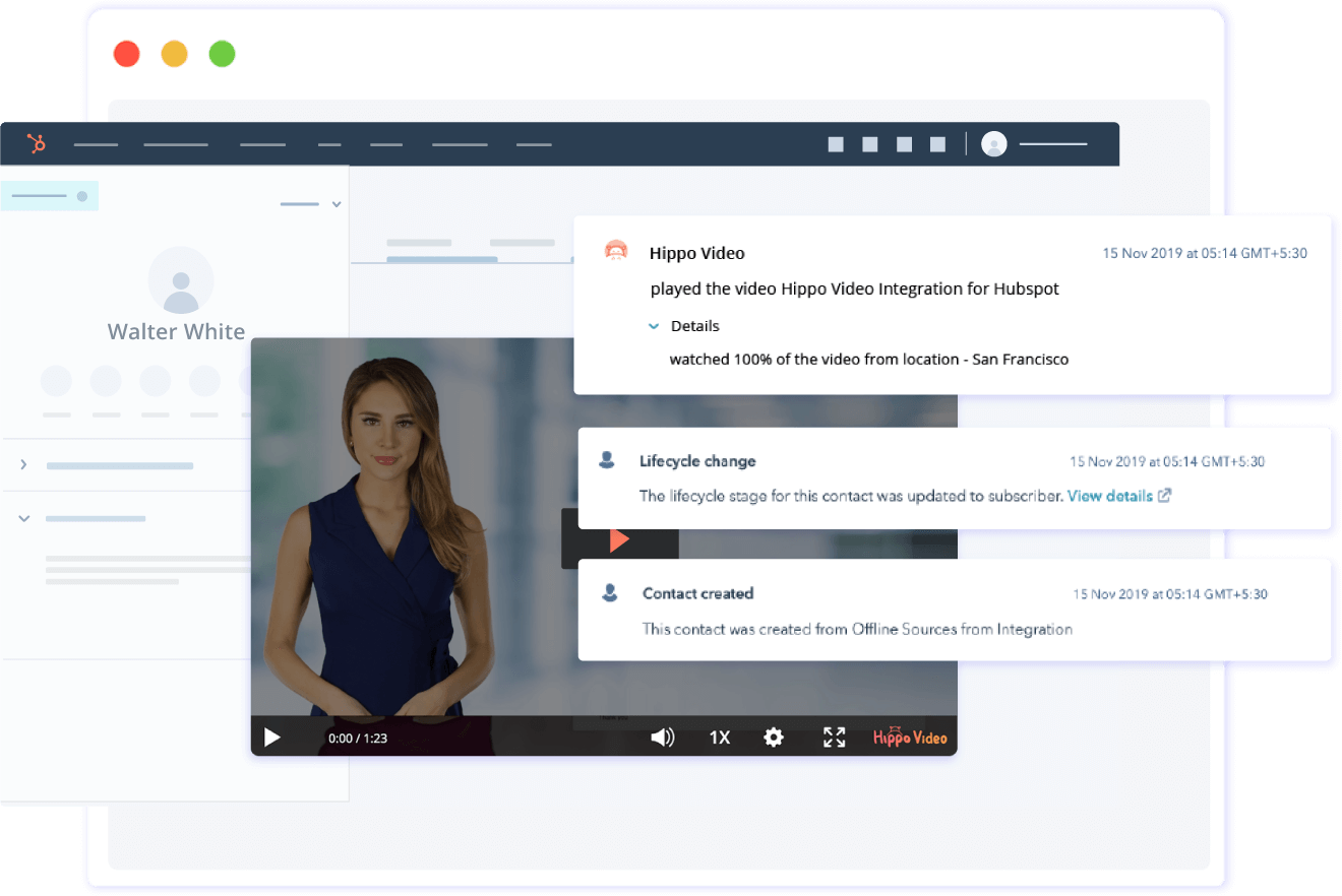 Hubspot Video Analytics